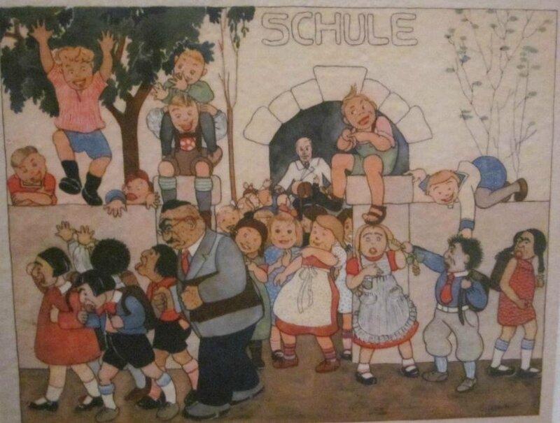 schule-nazis-chassent-enfants-juifs