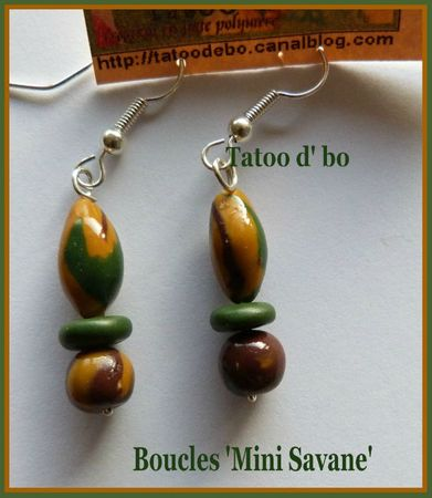 Boucles mini savane