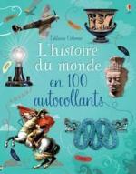 L'Histoire du monde en 100 autocollants couv