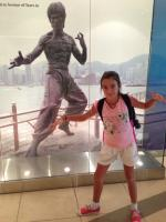 Marie et Bruce Lee