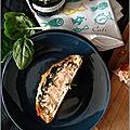 Saumon en croûte, aux épinards & champignons