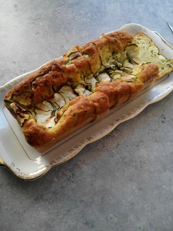 cake courgettes parmesan
