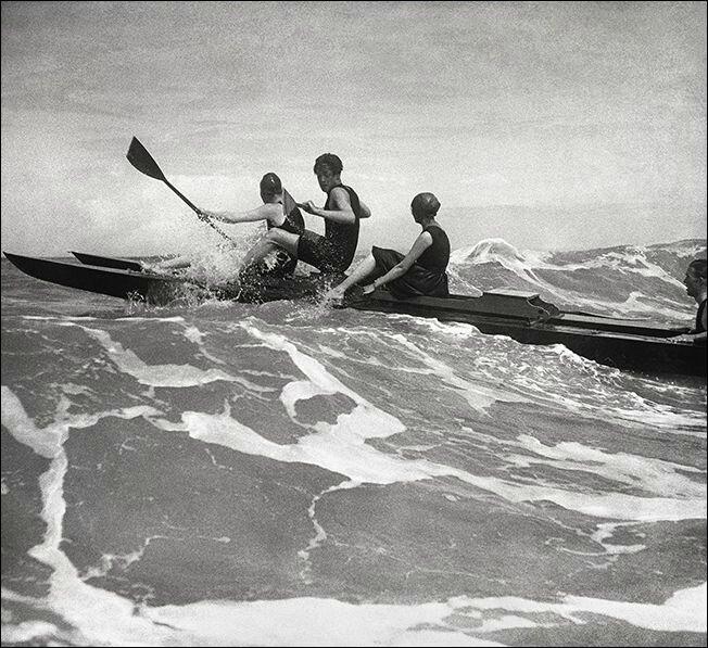 LARTIGUE kayak mer