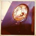 Une lampe style retro industriel