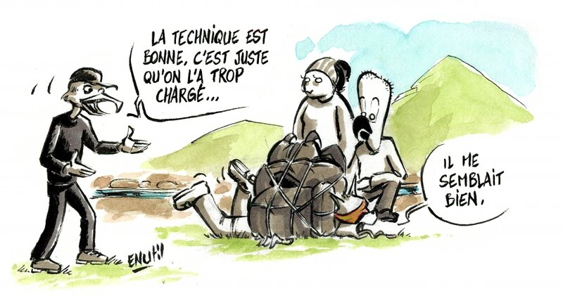 Charger les mules 3