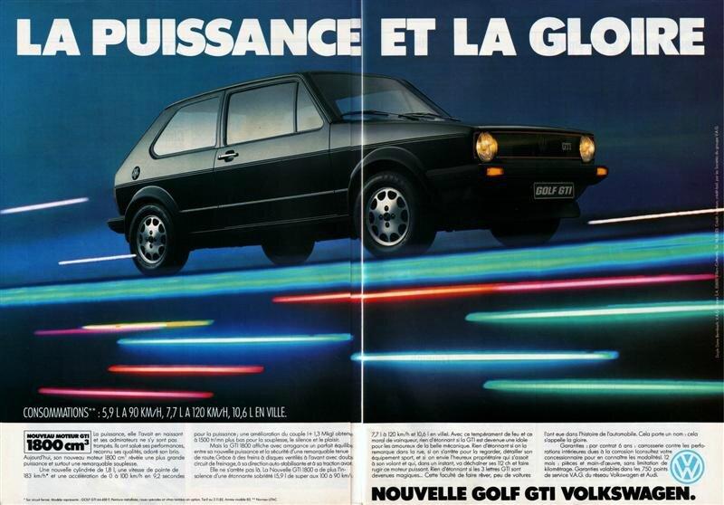 Pub - Volkswagen Golf GTI 1800 - 1983 (Medium)
