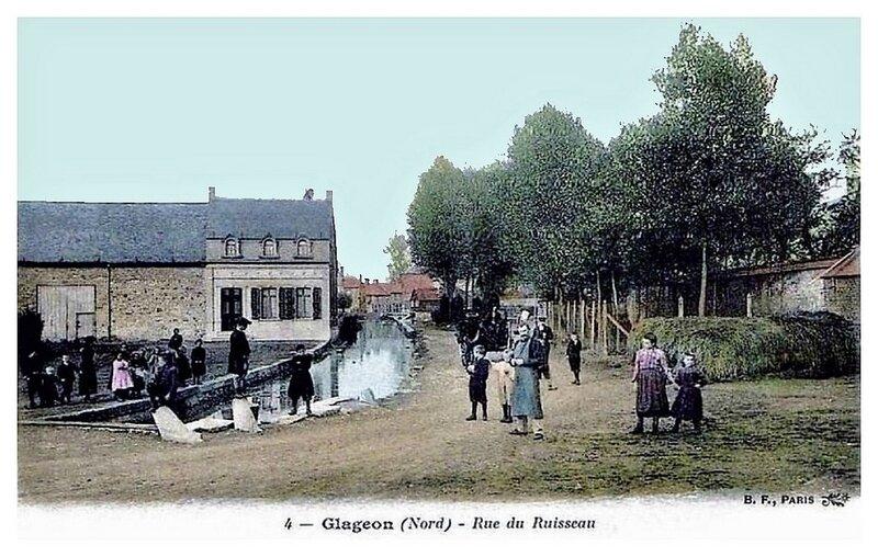 GLAGEON La Rue du Ruisseau