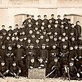 08 Caen, Quartier Claude Decaen, groupe 1913, 43e RAC,1914, 1ère batterie