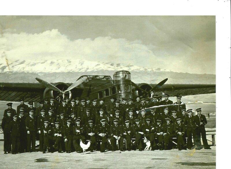 Base aérienne de Rayack (Liban), devant un Bloch-200