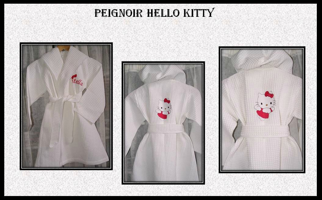 peignoir hello kitty 2