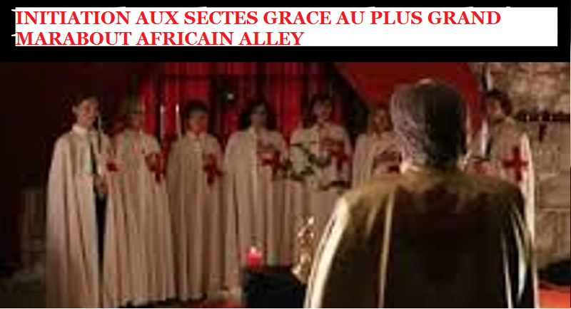 Initiation aux sectes-marabout Alley