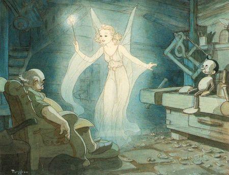 Gustaf Tenggren - Pinocchio 20