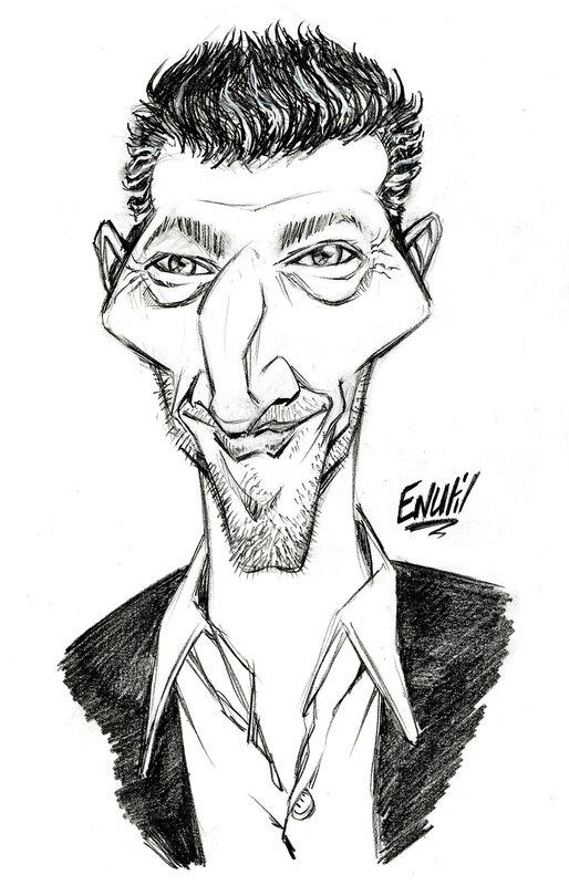 Caricature Vincent Cassel