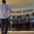 Lydia ludic togo s'associe a la coupe nationale du chant choral