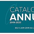 Nouveau catalogue annuel 2019/2020 !