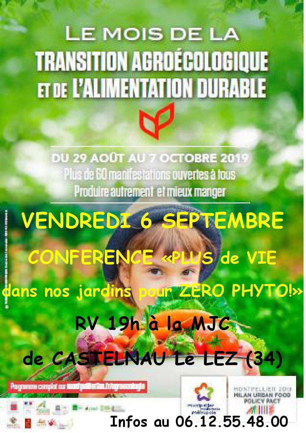 Retrouvez Les Jardins De Tara vendredi 6 en conférence et samedi 21 septembre pour une journée sur le jardinage naturel !