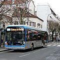 Bus électriques : nouveaux bluebus à la ratp