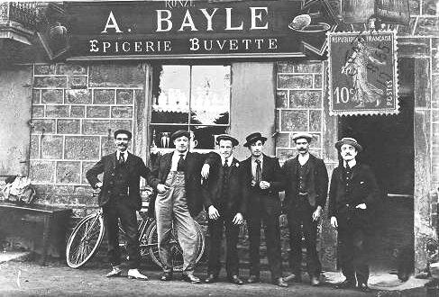 buvette épicerie Bayle