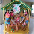 Barbie Tropiques 1987 : bungalow tropical