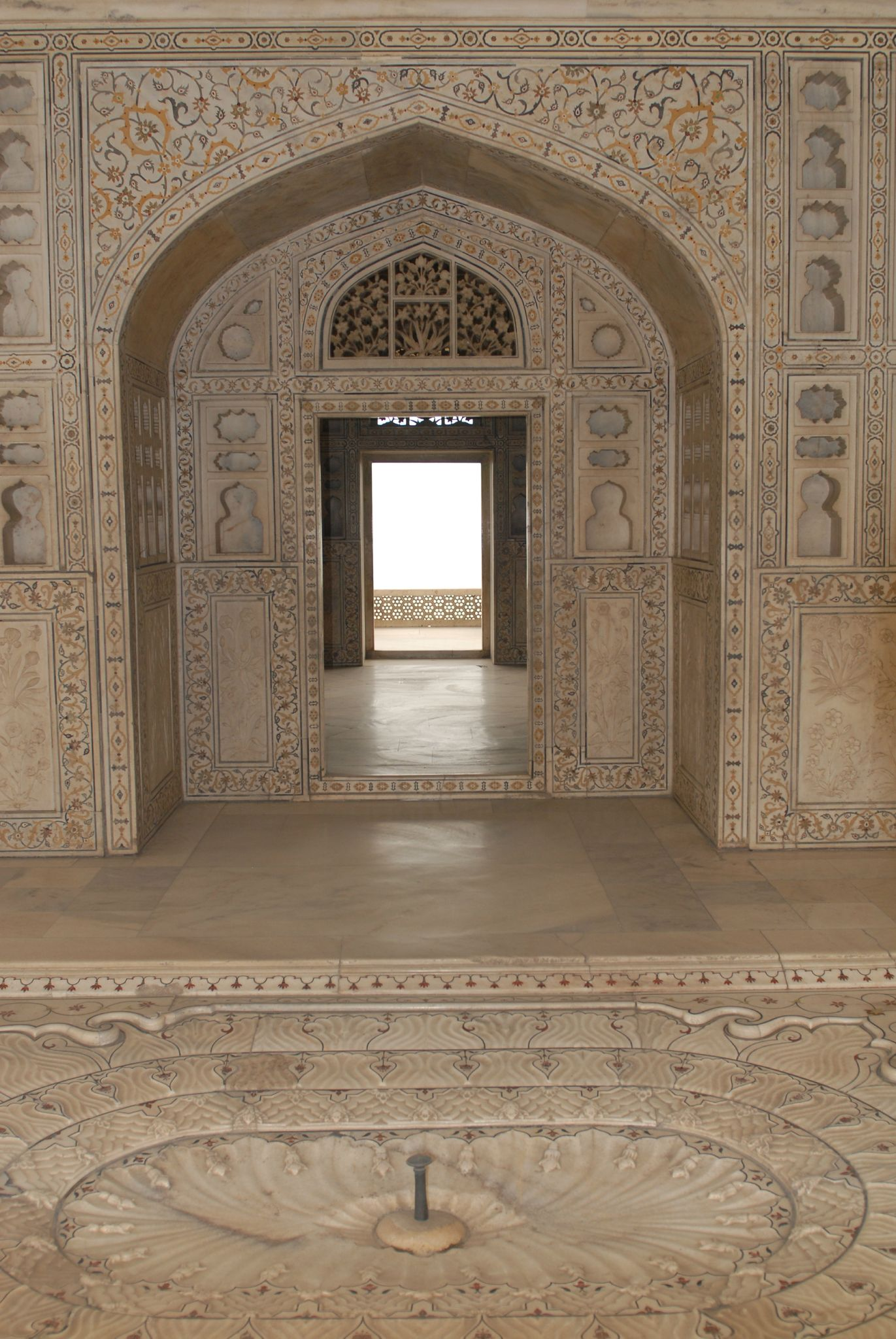 le fort rouge, Agra