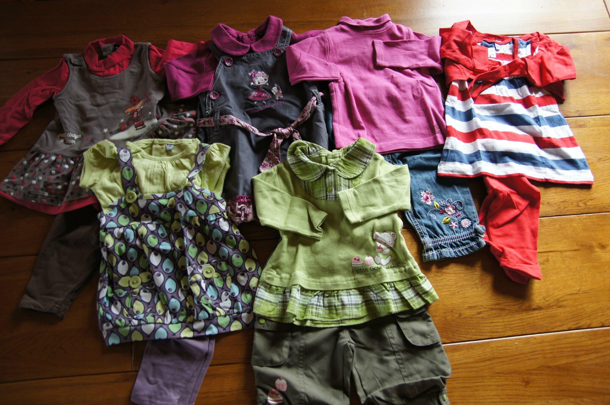 82390a3a69c1d Vêtements bébé fille du 6 au 12 mois - Le vide sous-sol
