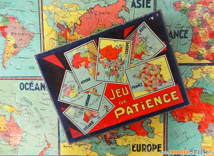 JEU-DE-PATIENCE-Carte-pays-2-puzzle-ancien-9-muluBrok