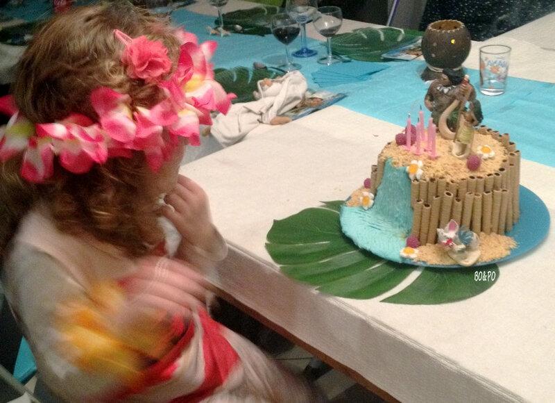 vaiana - anniversaire - goûter - disney - princesse - maman boucle d'or - gâteau - pinata - fête d'anniversaire