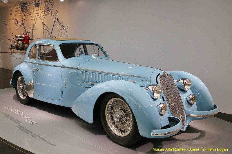 Alfa Romeo 8 C 2900 B Touring - 1938