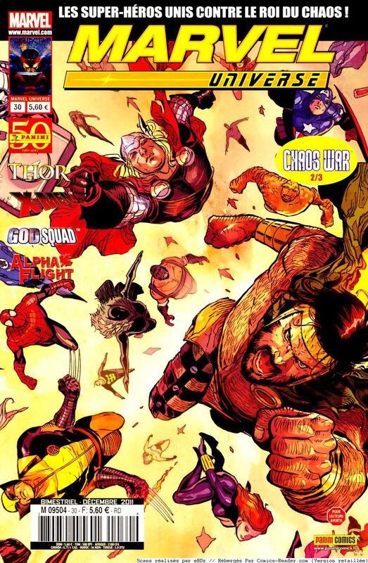 marvel universe V1 30 chaos war 2