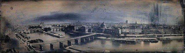 rive gauche photo 1840