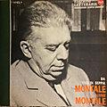 Eugenio montale (1896 – 1981) : le penser du prisonnier / il sogno del prigionero