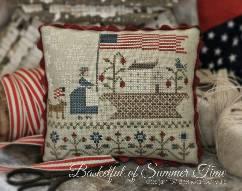 basketful of summer time