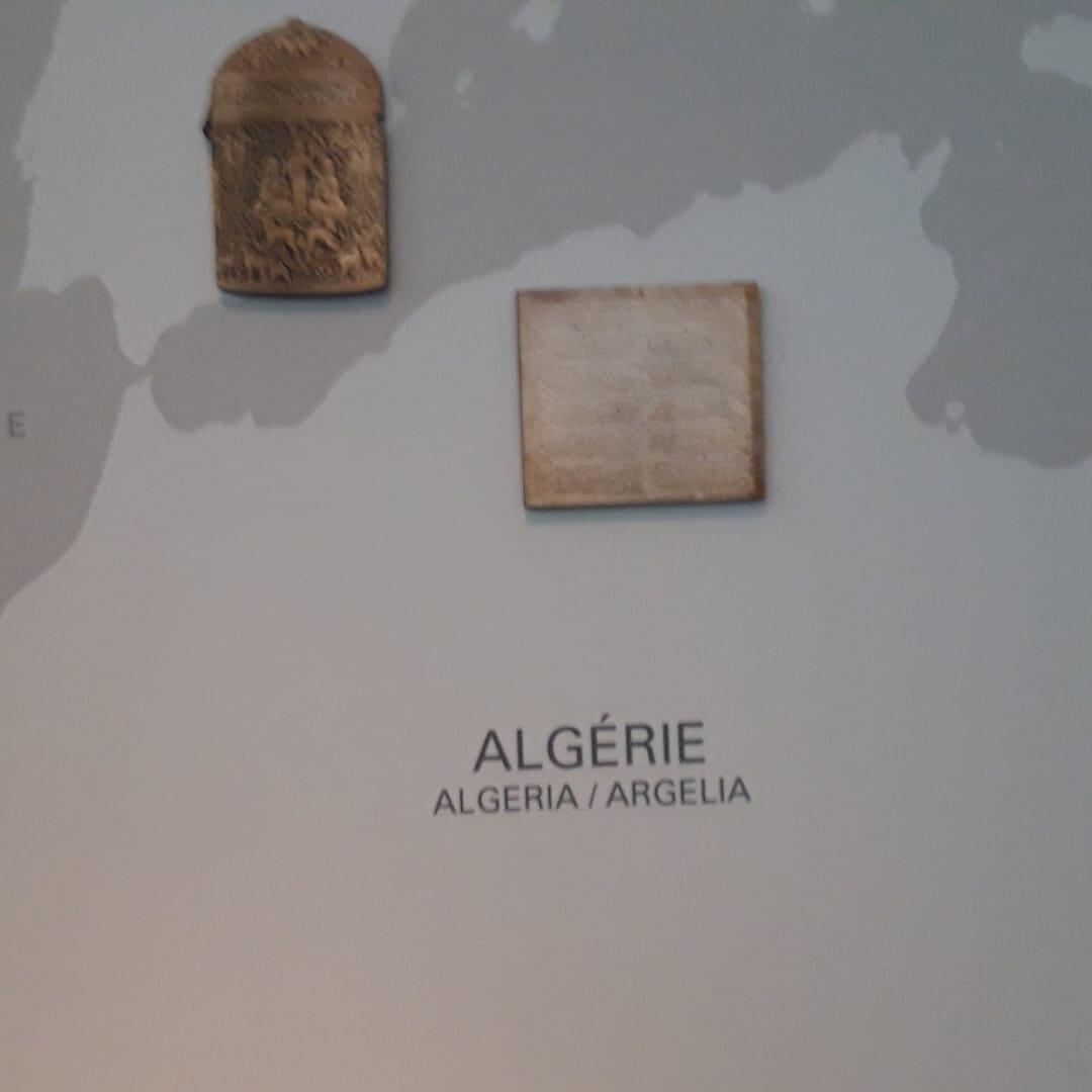 Un morceau d'Algérie au Musée du Louvre