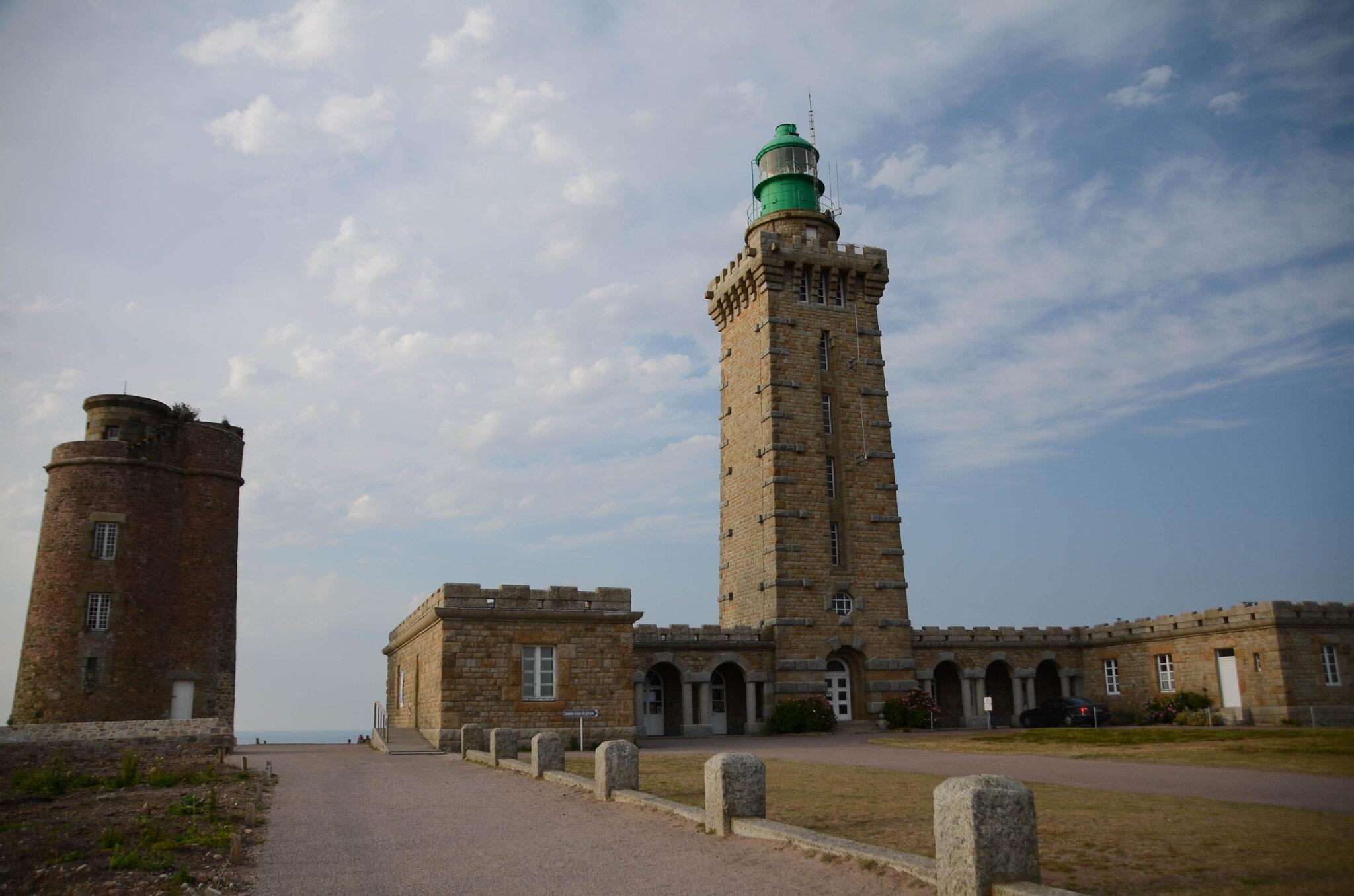 Le Cap Fréhel et le fort La Latte.