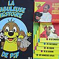 Livre bd ... la fabuleuse histoire de pif (1979) + 5 guides pratiques