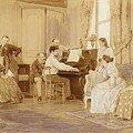 debussy au piano à louzancy chez chausson (anonyme)