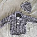 Ensemble layette tricot 2014