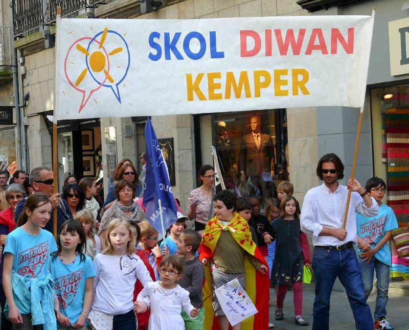 L'école Diwan de Quimper