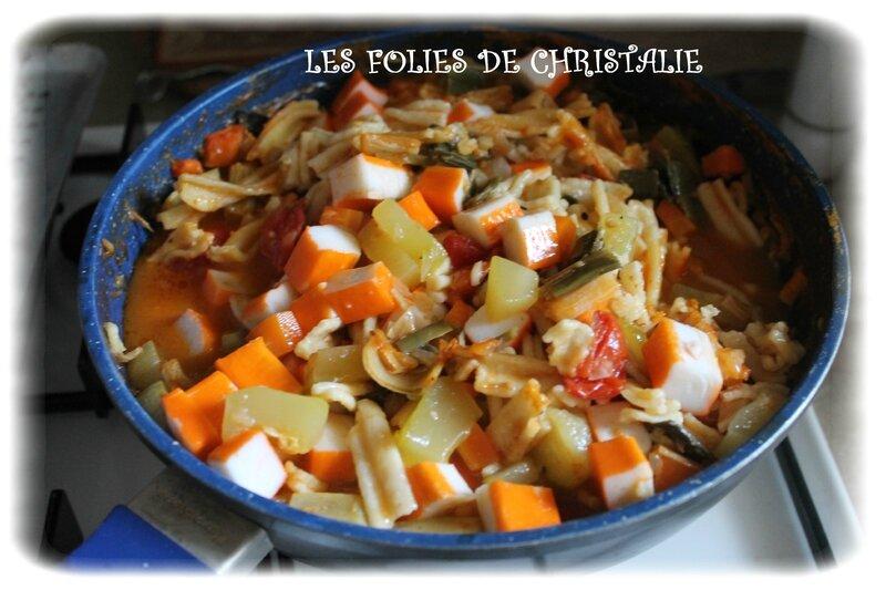 One pot pasta surimi 6