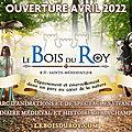 Projet le bois du roy, un parc mélant l'histoire, la fantaisie et le folklore médiéval