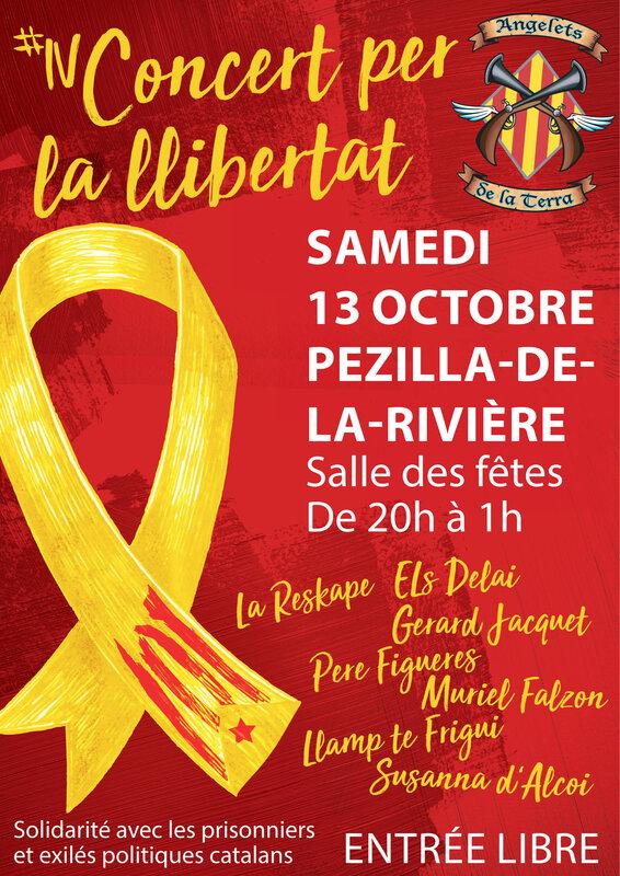 affiche Concert Llibertat Pesillà de la Ribera