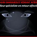 Grand medium marabout voyant reconnu vaudou tchedi vous propose ses services