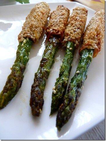 Stick asperge sésame 2