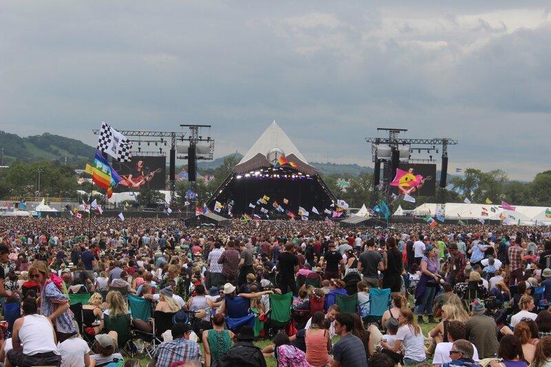 Glastonbury festival 26 juin 2015 Pyramid stage arena