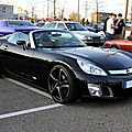 Opel GT roadster de 2011 (Rencard Burger king avril 2011) 01