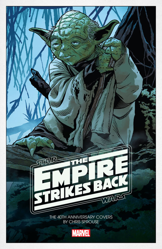 star wars the empire strikes back 40th anniversary covers by chris sprouse