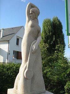 varennes vauzelles statue