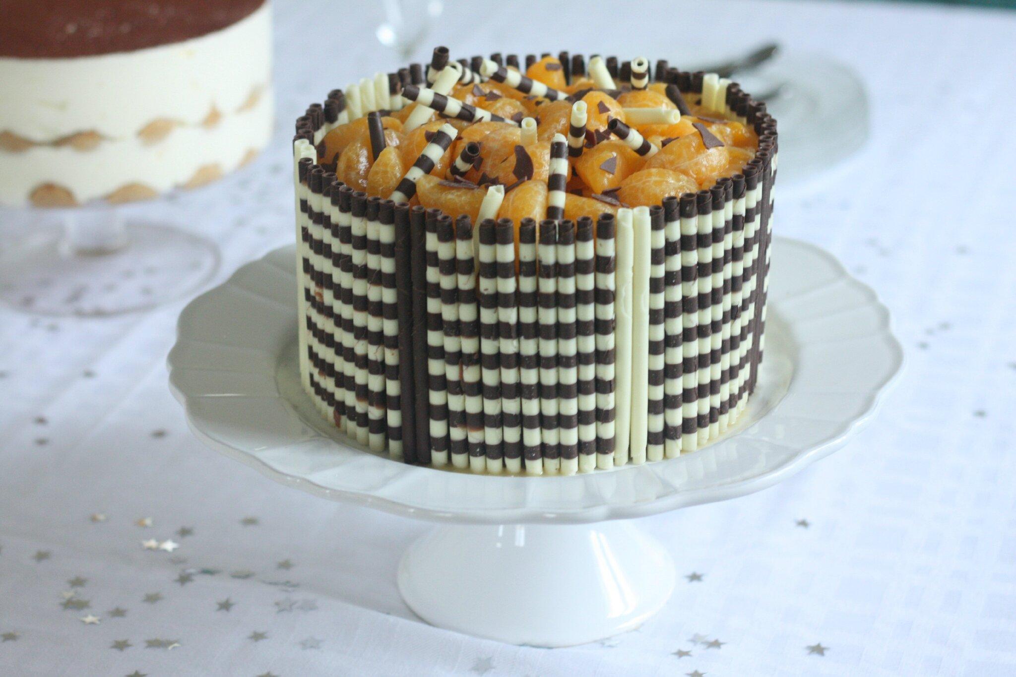 Gâteau Danniversaire Chocolat Clémentine Aussi Appelé Gâteau Cest