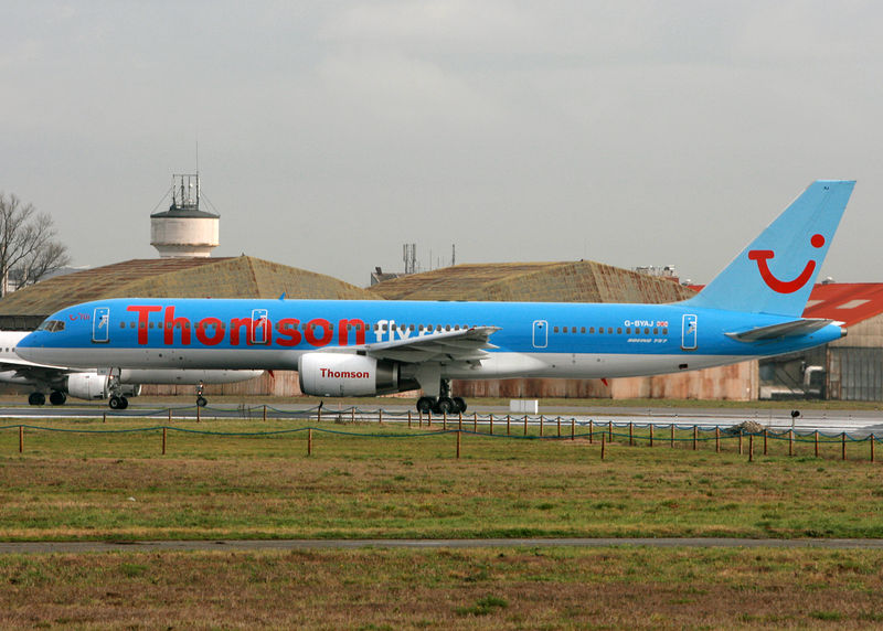 THOMSONFLY ( BRITANIA AIRWAYS)