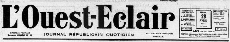 1927 le 28 avril Ernest Queffelec_1